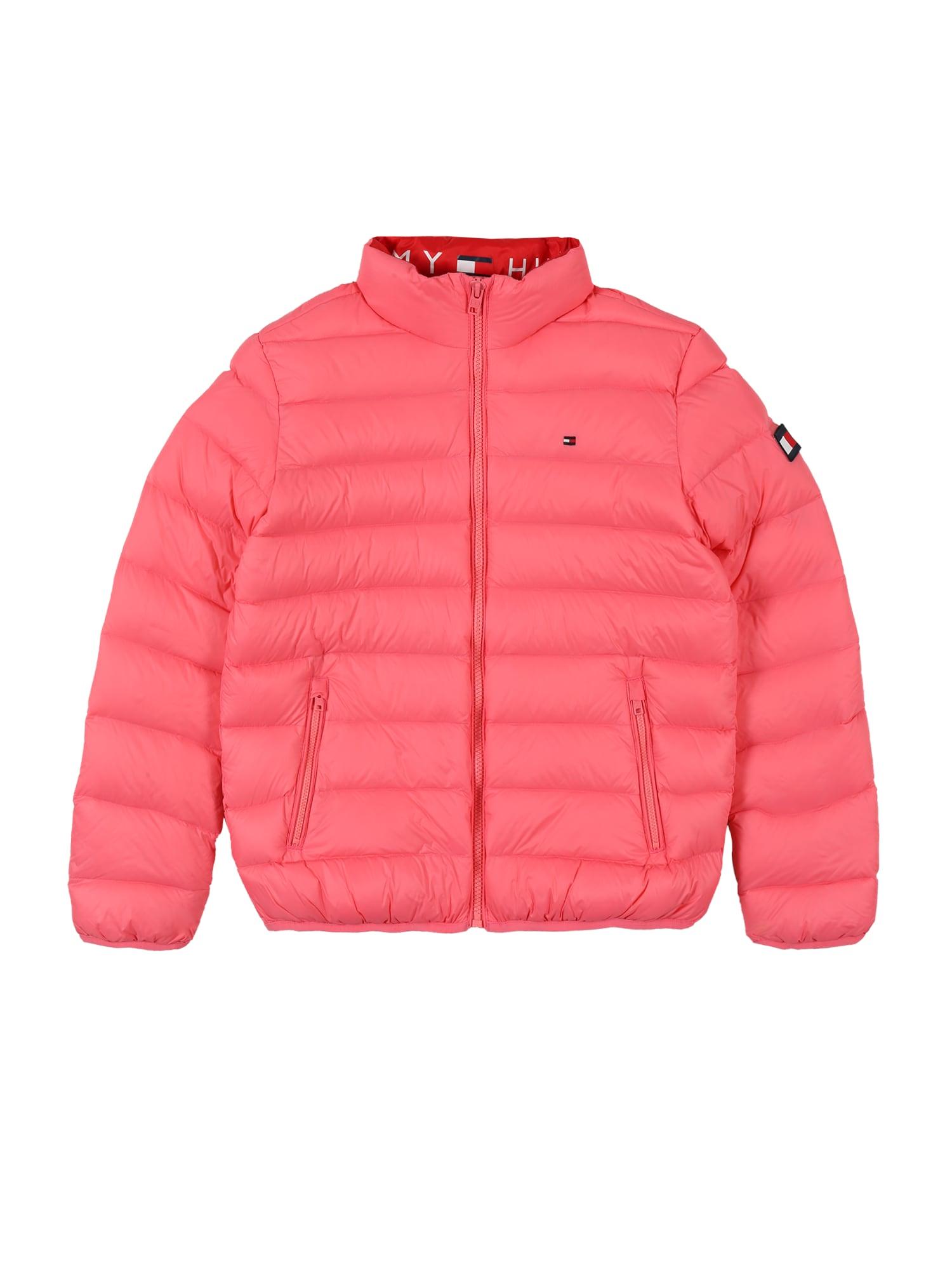 TOMMY HILFIGER Prechodná bunda  ružová