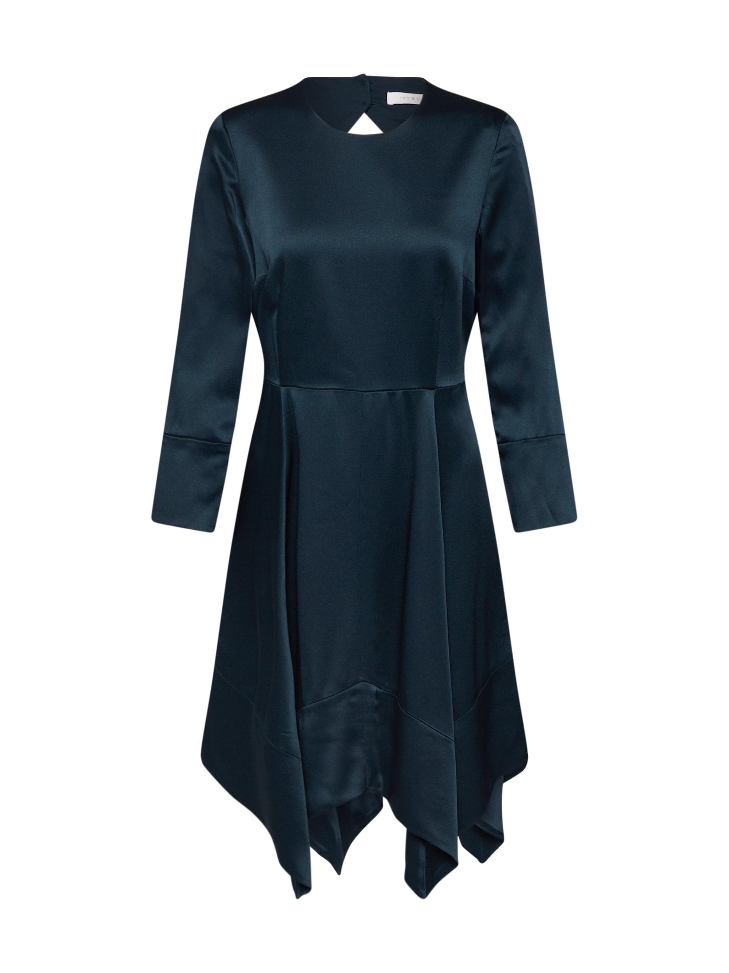 IVY & OAK Kokteilinė suknelė tamsiai žalia