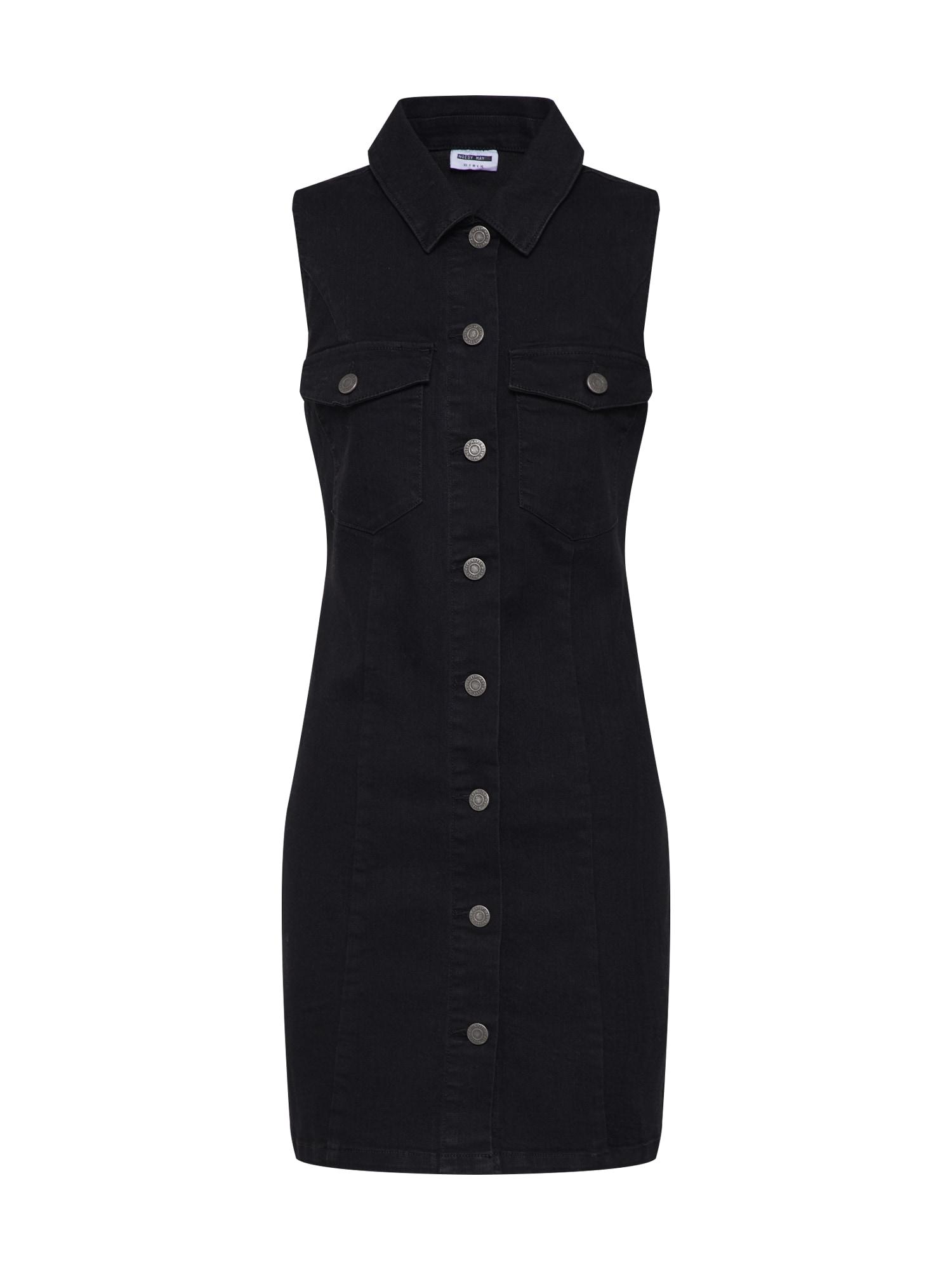 Letní šaty VALERIE černá Noisy May