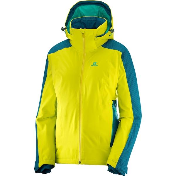 Jacken für Frauen - Skijacke 'BRILLIANT' › SALOMON › neongelb jade  - Onlineshop ABOUT YOU