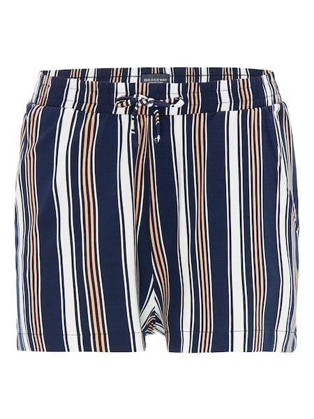 Hosen für Frauen - Shorts 'RISA' › BROADWAY NYC FASHION › dunkelblau mischfarben  - Onlineshop ABOUT YOU