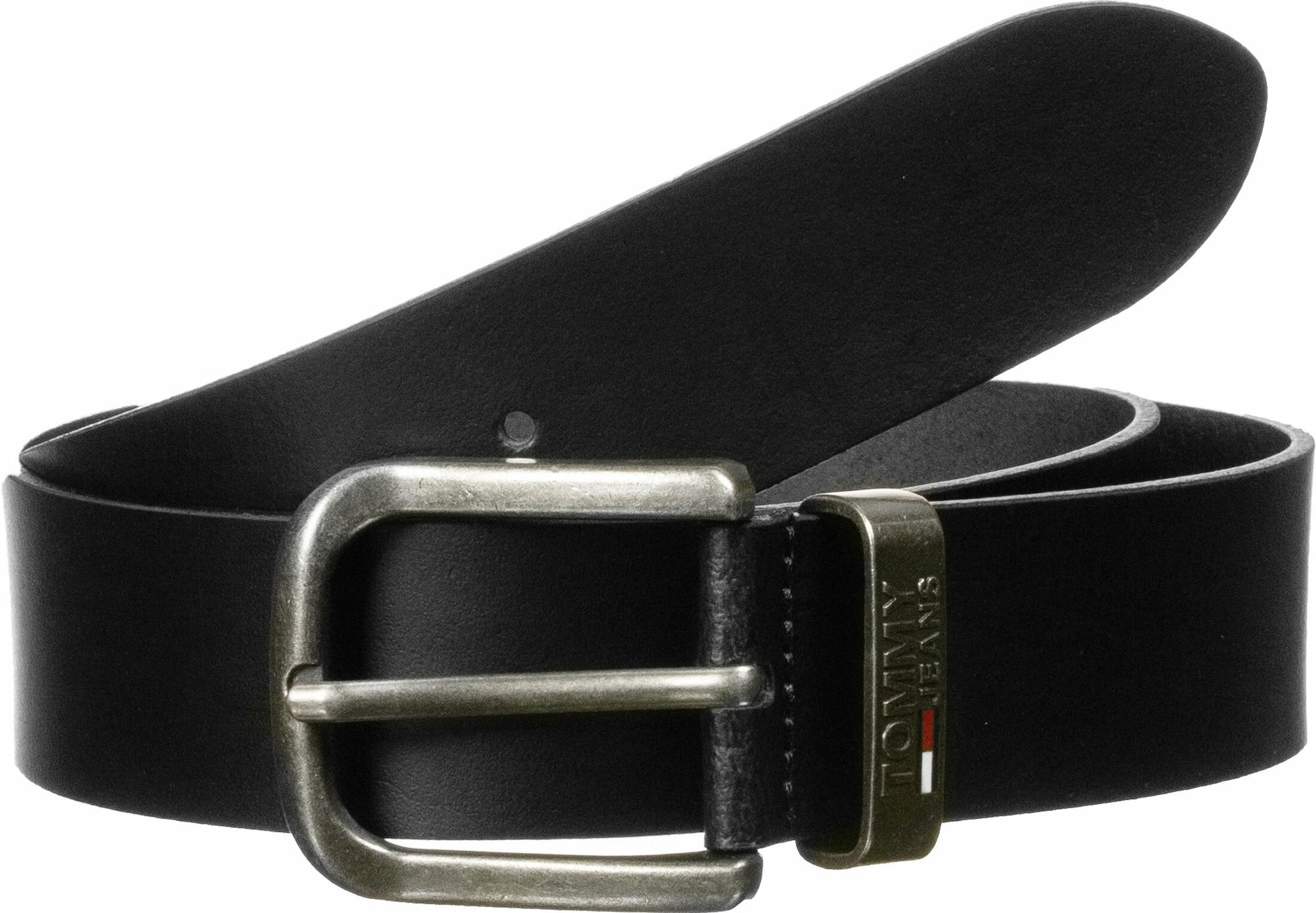 Tommy Jeans Diržas ' Metal Loop ' juoda