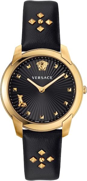 Uhren für Frauen - Uhr 'Audrey, VELR00319' › Versace › gold schwarz  - Onlineshop ABOUT YOU