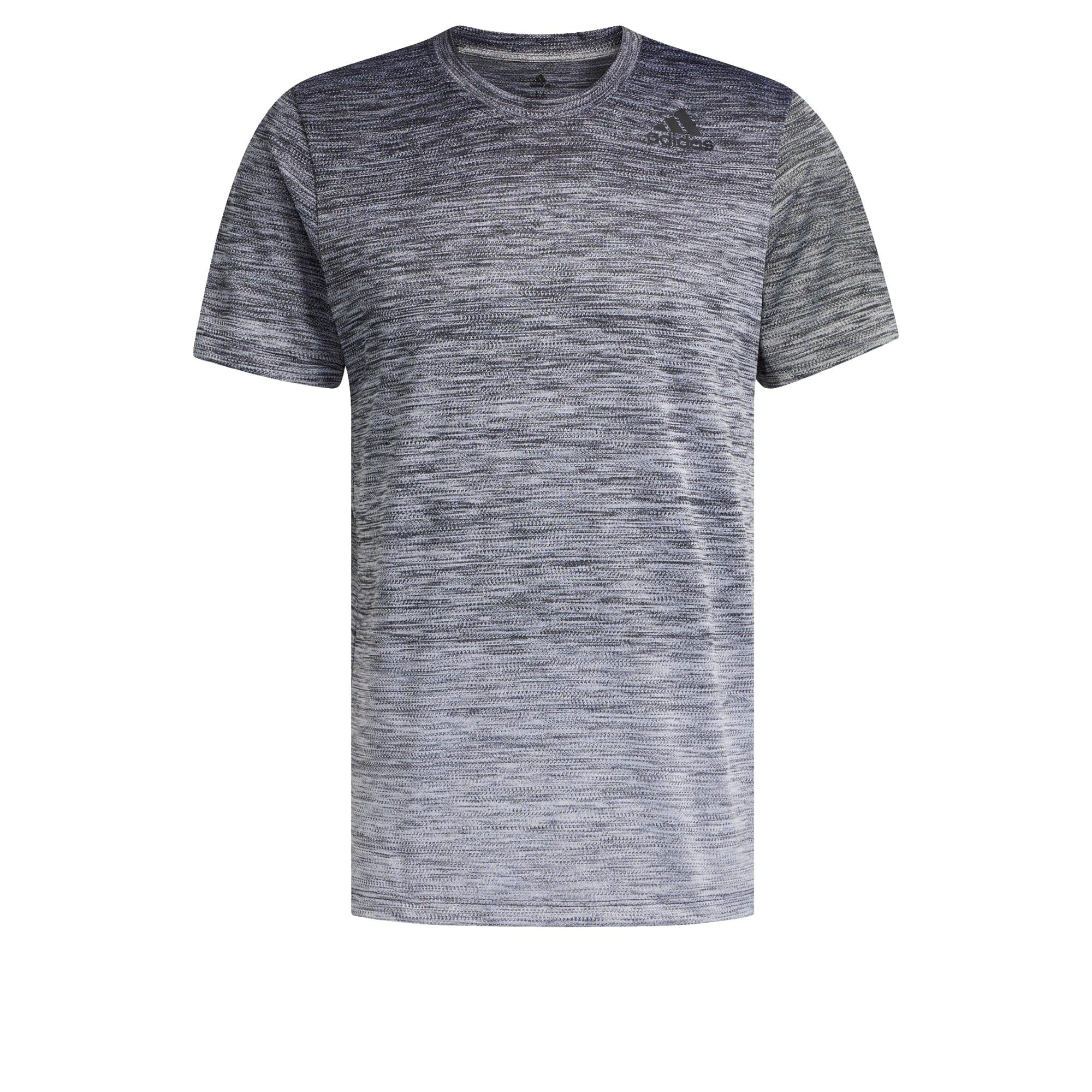 ADIDAS PERFORMANCE Sportiniai marškinėliai margai juoda / margai pilka