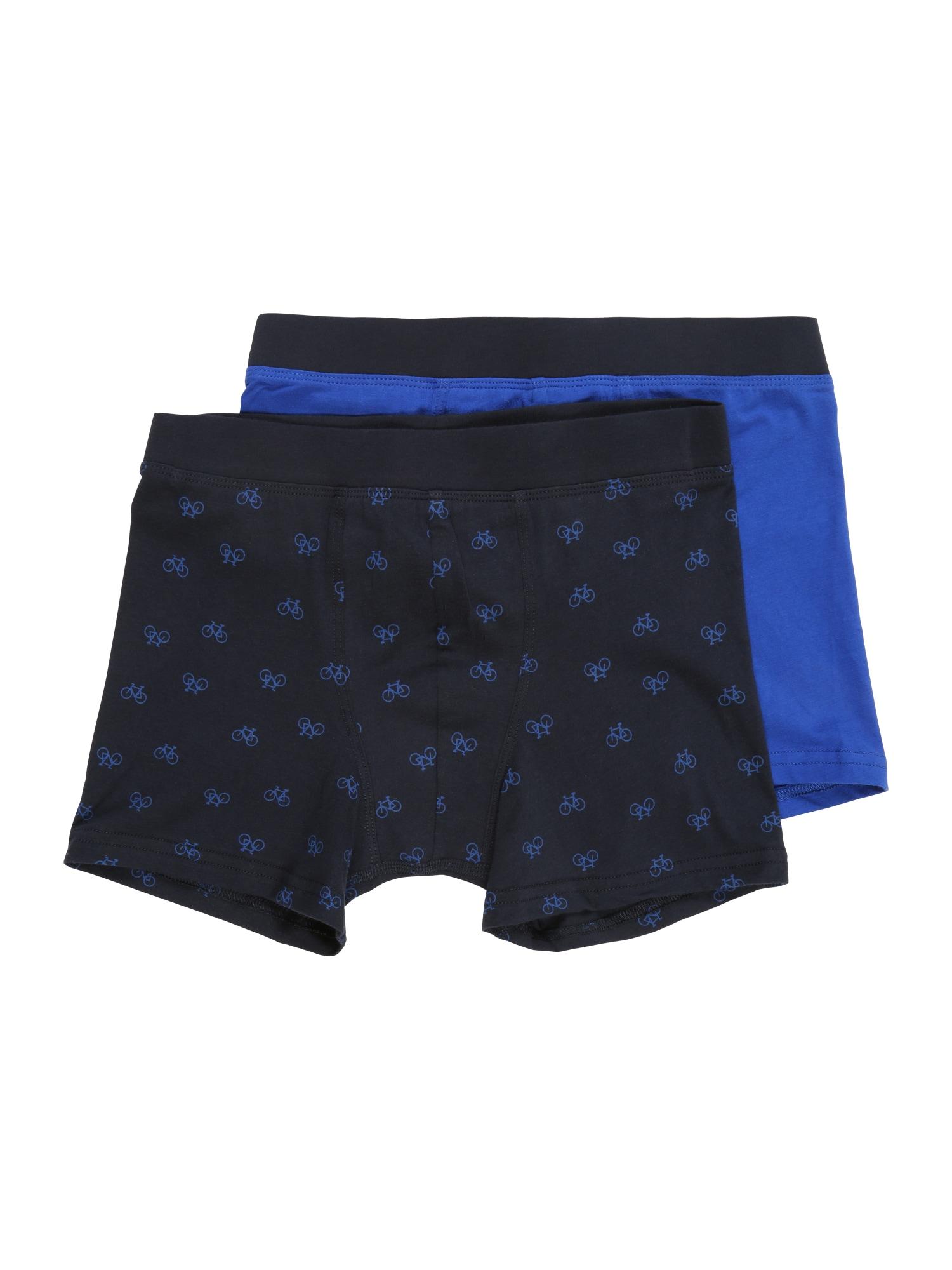 Spodní prádlo modrá námořnická modř SCHIESSER