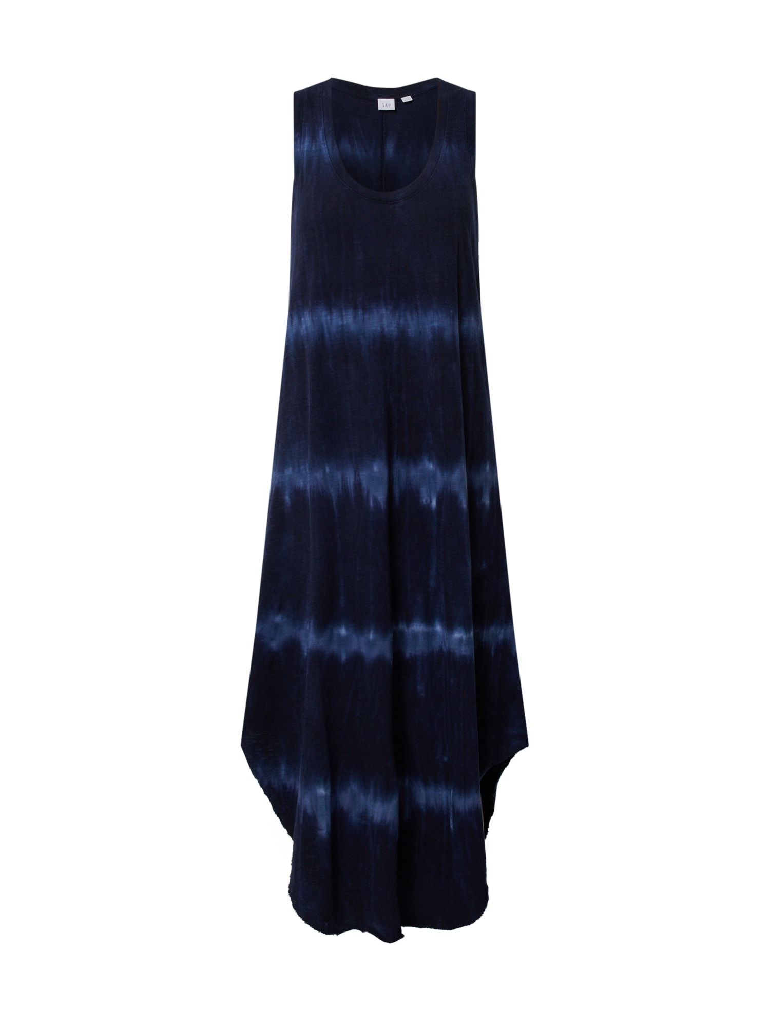 GAP Vasarinė suknelė šviesiai mėlyna / tamsiai mėlyna / indigo spalva