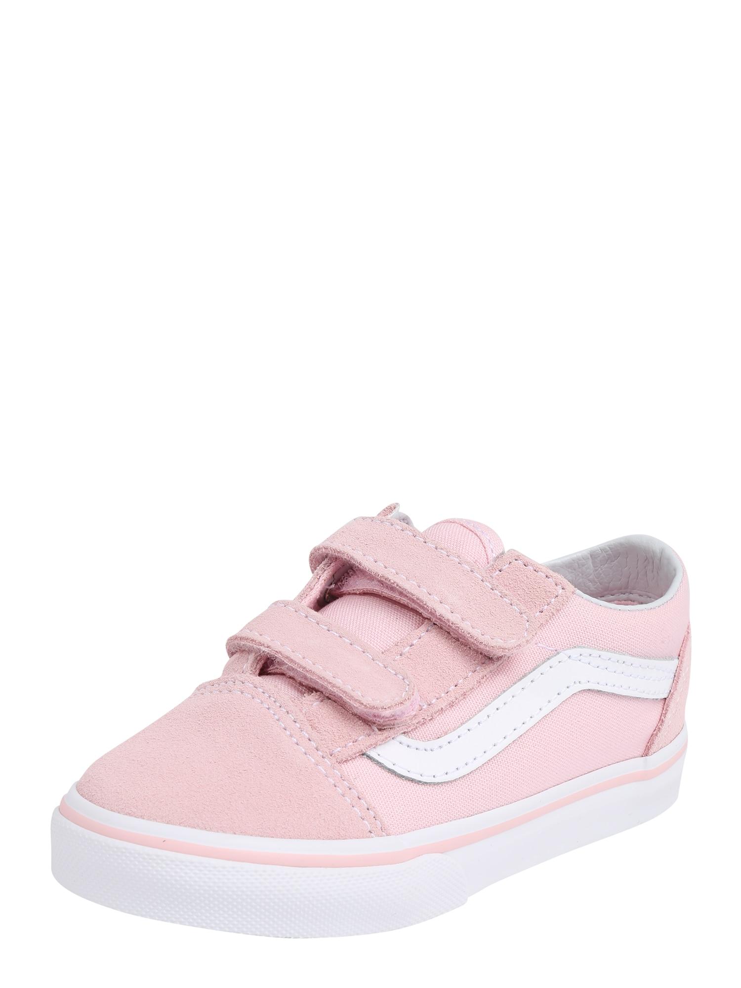 Tenisky růžová bílá VANS