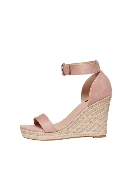 Sandalen für Frauen - ONLY Sandale rosa  - Onlineshop ABOUT YOU