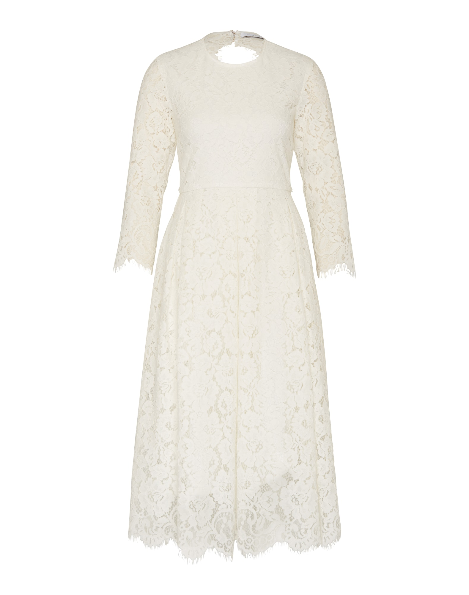 IVY & OAK Suknelė 'Lace Dress Fit And Flair' balta