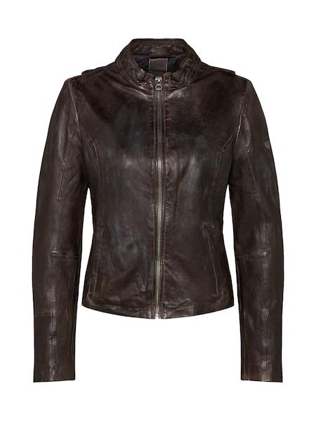 Jacken für Frauen - Gipsy Lederjacke 'Chessy W18 LAPOV' anthrazit  - Onlineshop ABOUT YOU