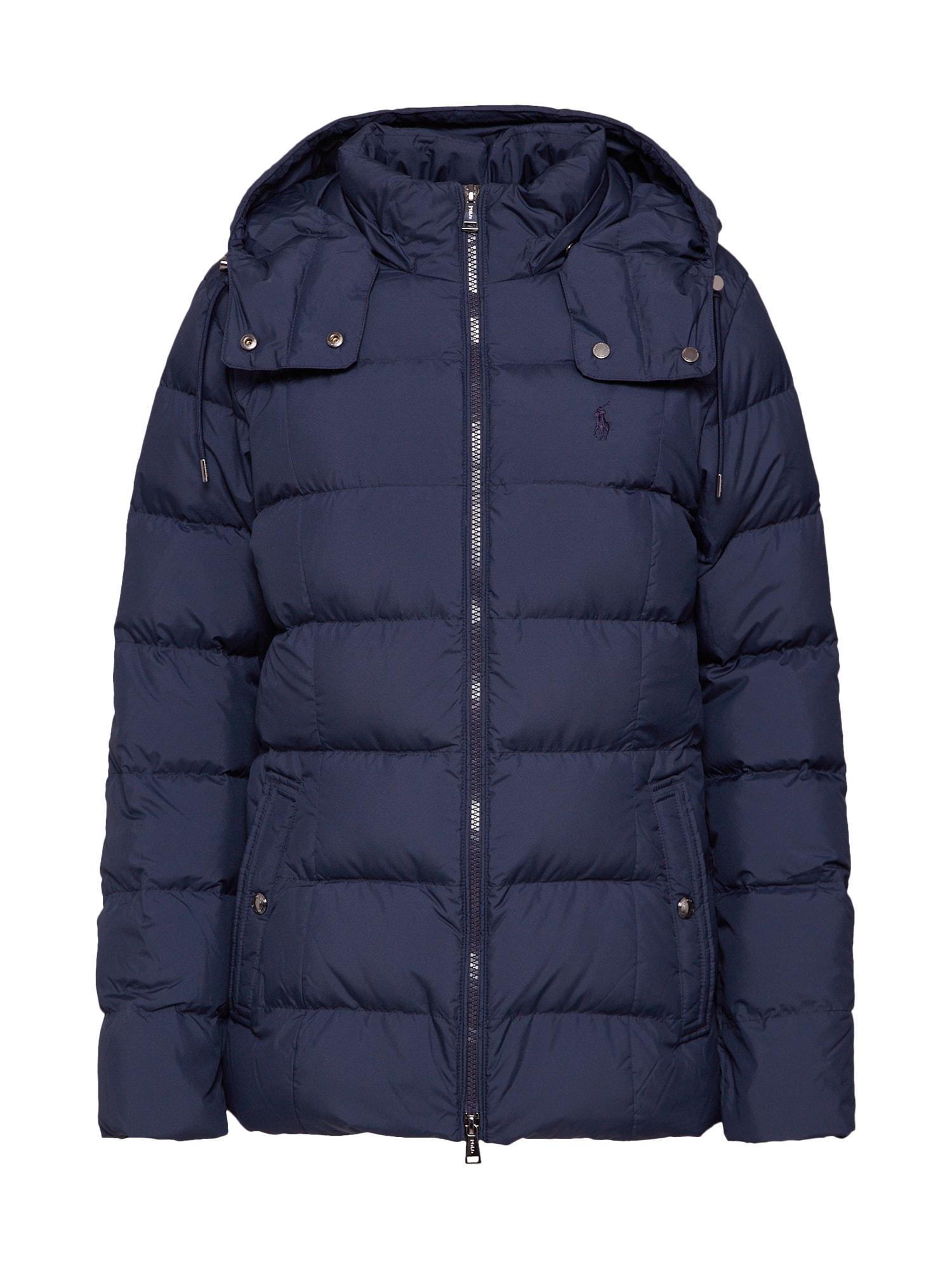 POLO RALPH LAUREN Žieminė striukė tamsiai mėlyna