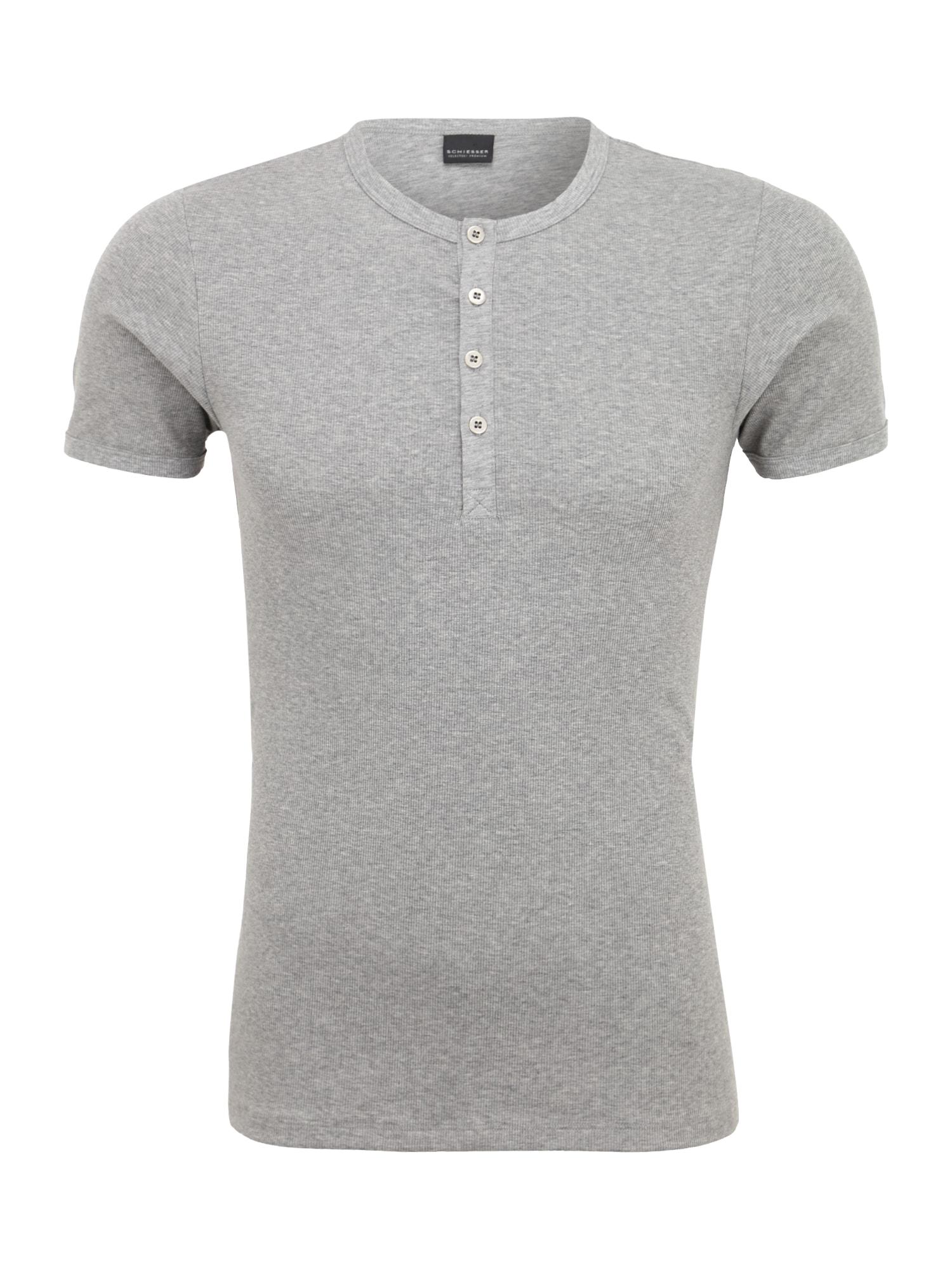 SCHIESSER Apatiniai marškinėliai pilka