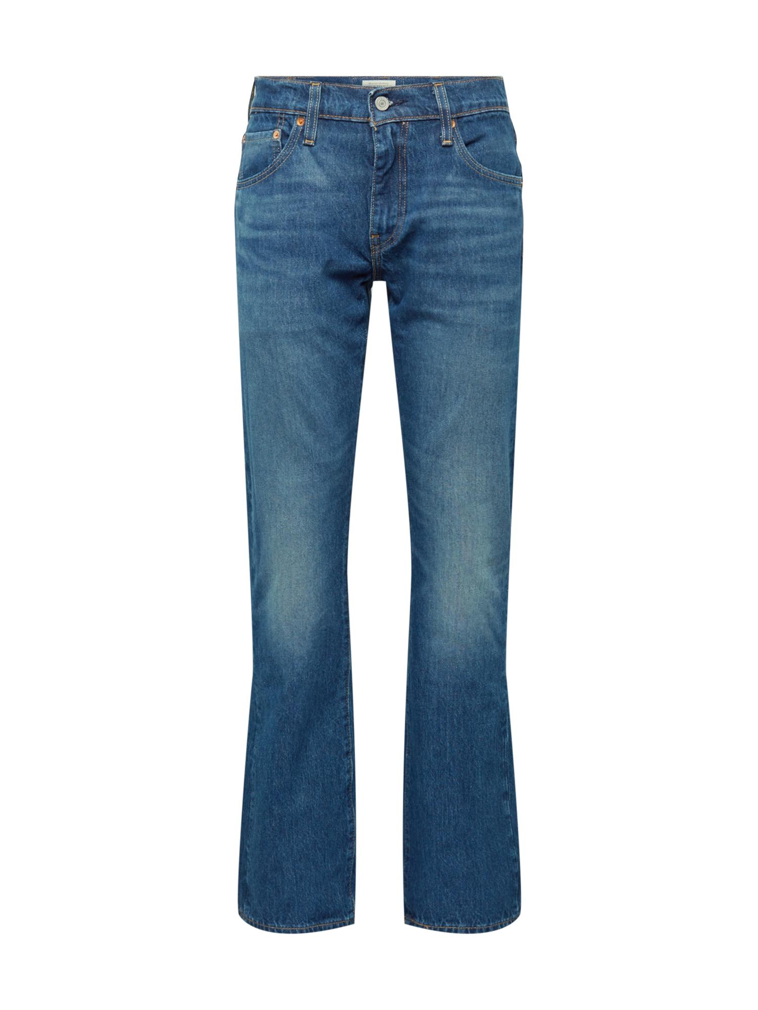 LEVI'S Džinsai '527™ SLIM BOOT CUT' tamsiai (džinso) mėlyna