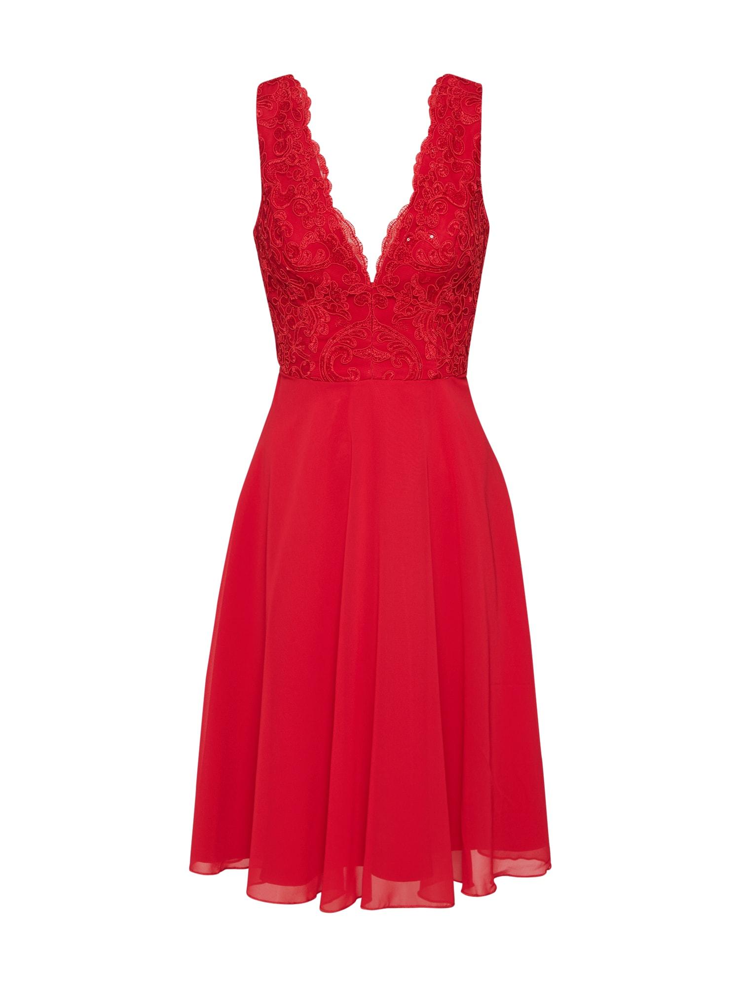 Chi Chi London Kokteilinė suknelė 'DODIE' raudona