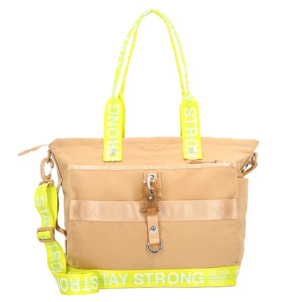 Shopper für Frauen - George Gina Lucy Shopper 'The Styler' hellbraun gelb  - Onlineshop ABOUT YOU