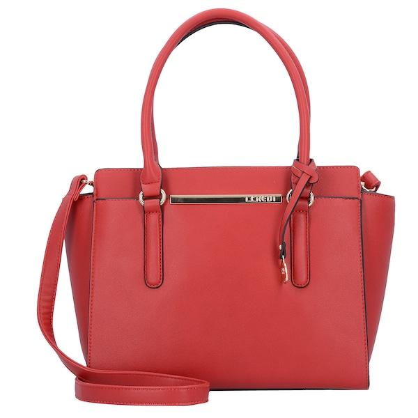 Handtaschen für Frauen - Handtasche 'Petra' 30 cm › L.CREDI › rot  - Onlineshop ABOUT YOU