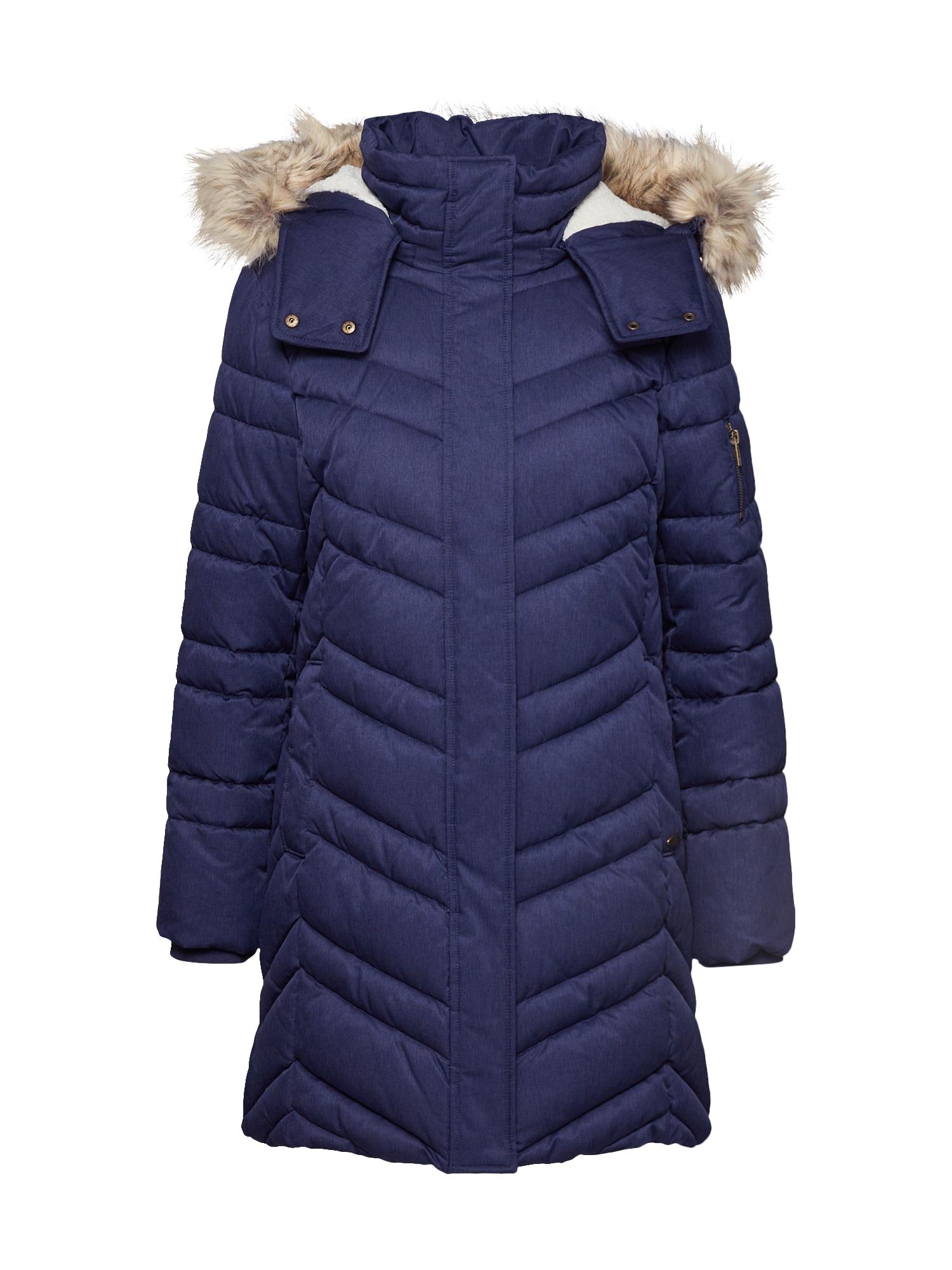EDC BY ESPRIT Žieminė striukė '3M Thinsulate' tamsiai mėlyna