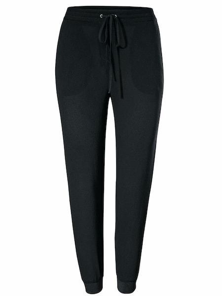 Hosen für Frauen - Rick Cardona By Heine Jogginghose schwarz weiß  - Onlineshop ABOUT YOU