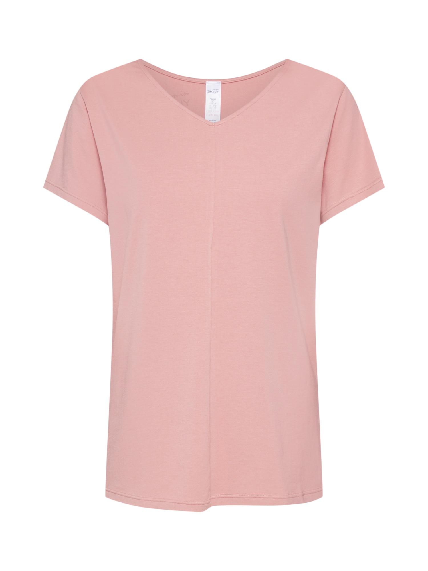 Skiny Tričká na spanie  rosé