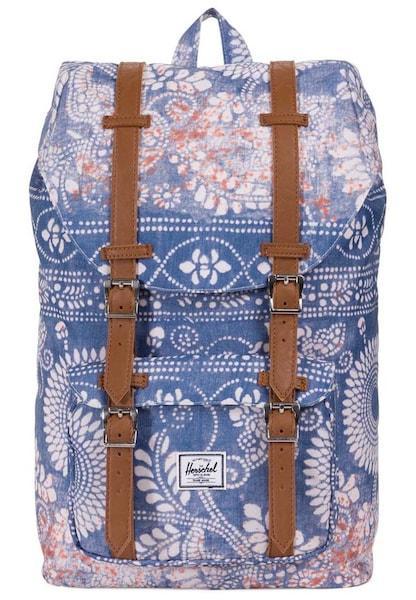 Rucksaecke für Frauen - Herschel Rucksack mit Laptopfach 'Little America 17 I Mid Volume Backpack' blau  - Onlineshop ABOUT YOU
