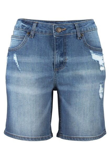 Hosen für Frauen - Bermudas › Buffalo › blue denim  - Onlineshop ABOUT YOU