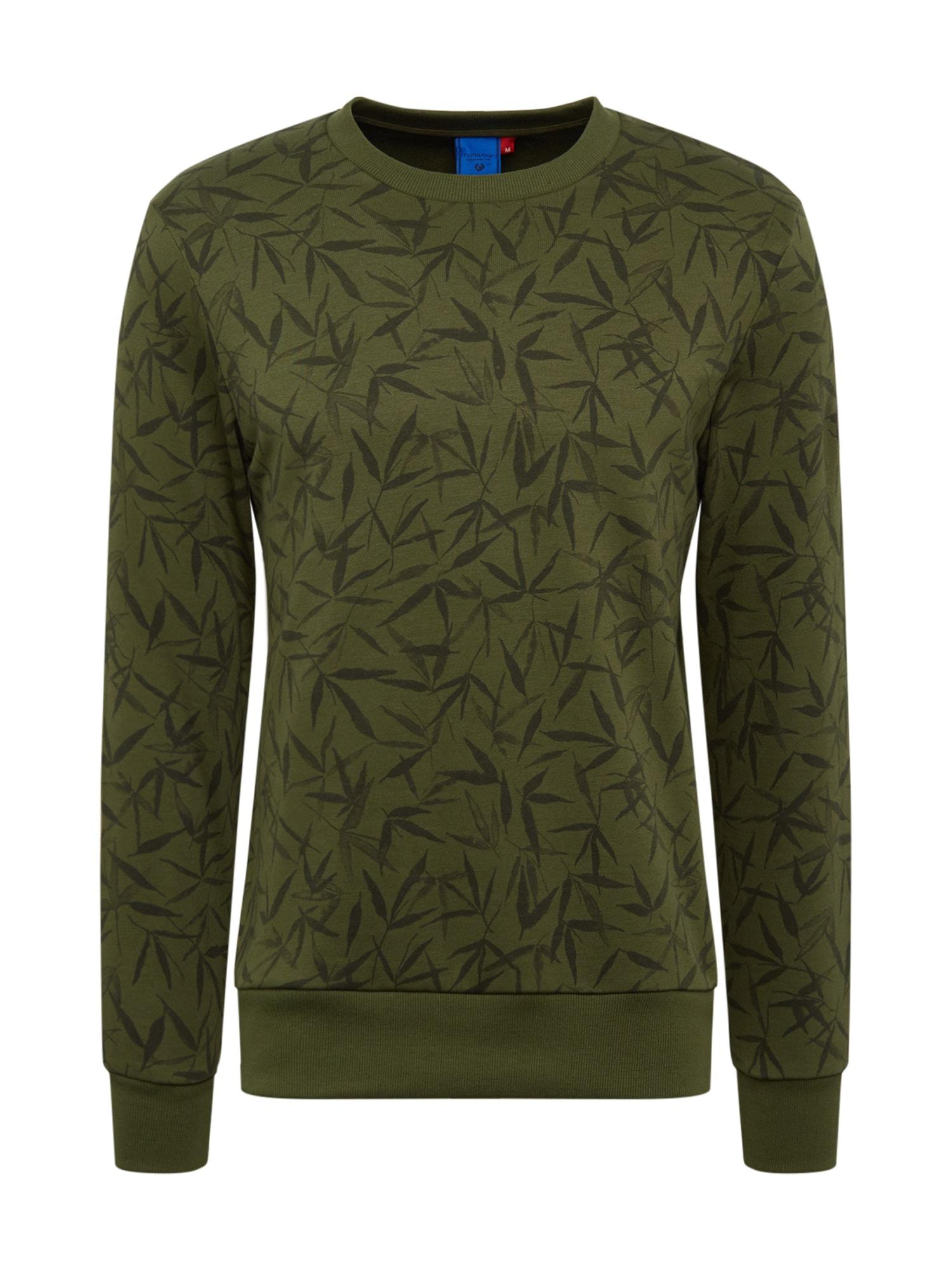 Ragwear Bluză de molton 'FLOWE'  oliv / brad