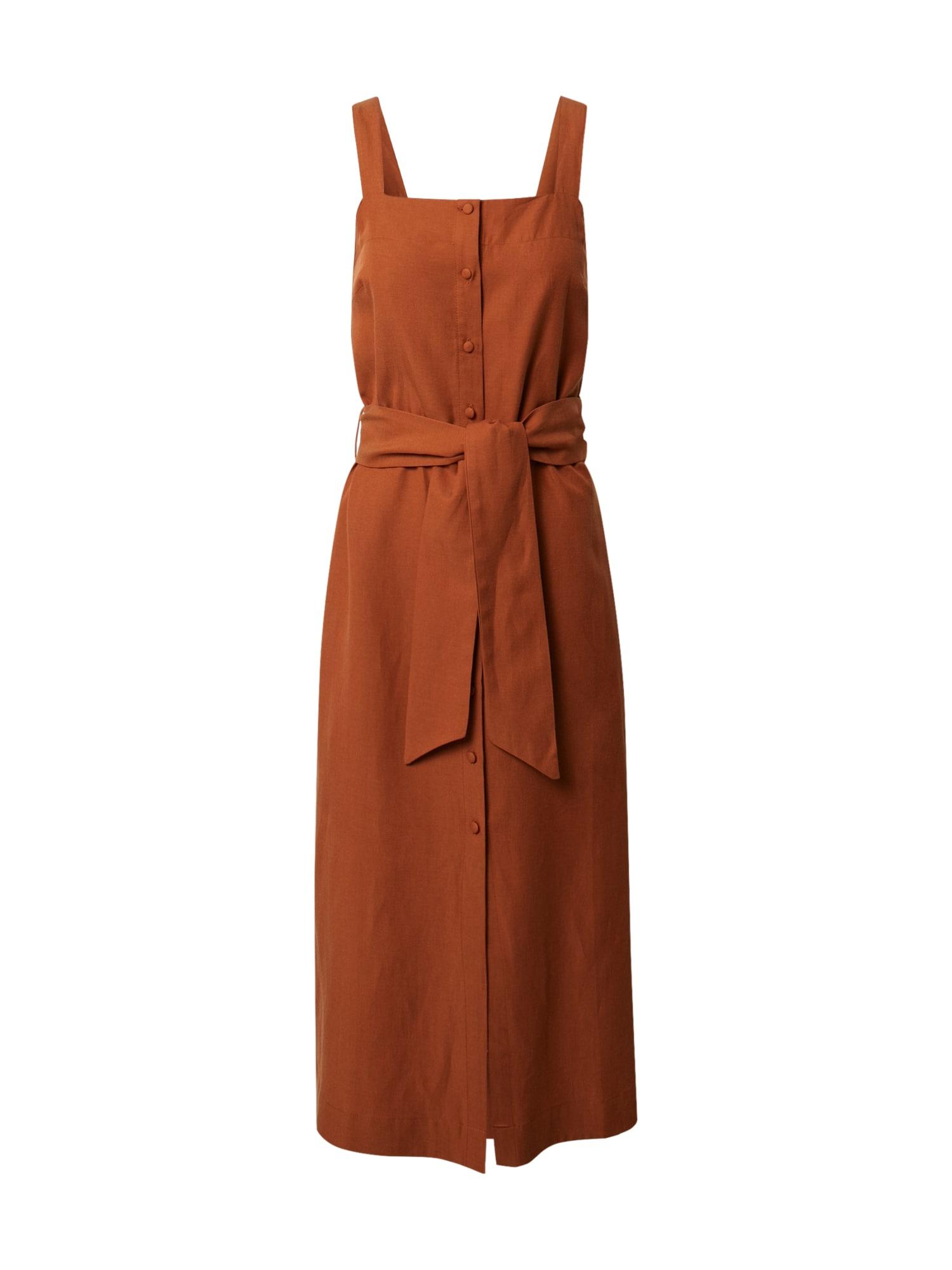 DENHAM Vasarinė suknelė ruda