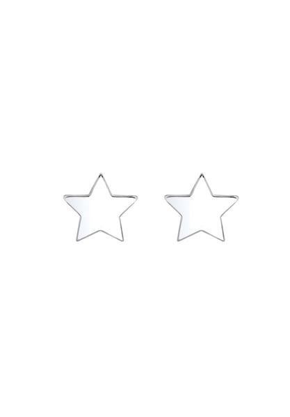 Ohrringe für Frauen - ELLI Ohrringe 'Sterne' silber  - Onlineshop ABOUT YOU