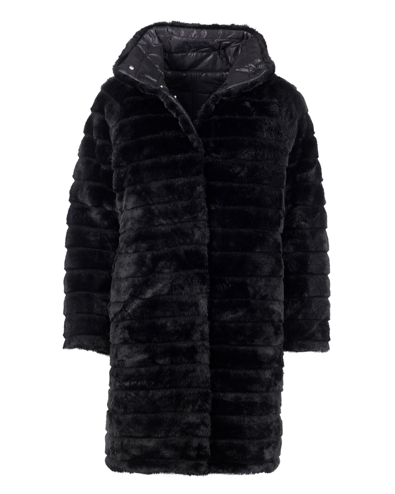 Maze Zimní kabát 'Lida'  petrolejová