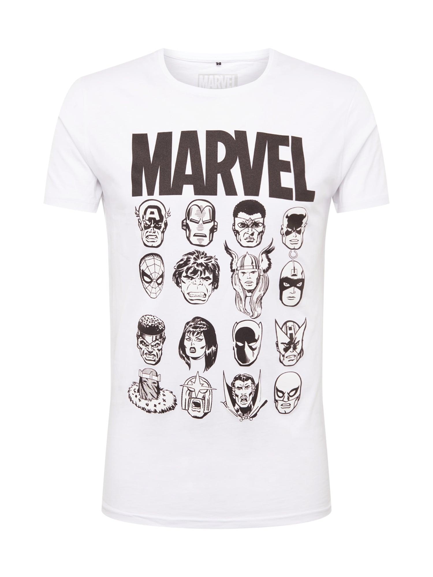 Mister Tee Tricou 'Marvel'  alb