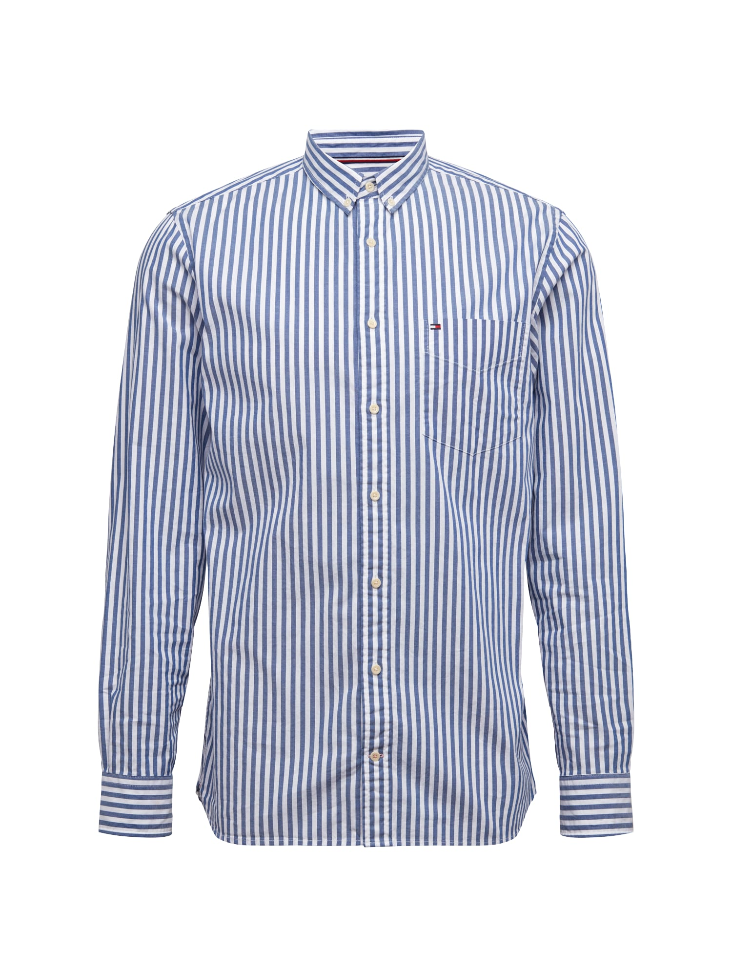 Košile Oxford královská modrá bílá TOMMY HILFIGER