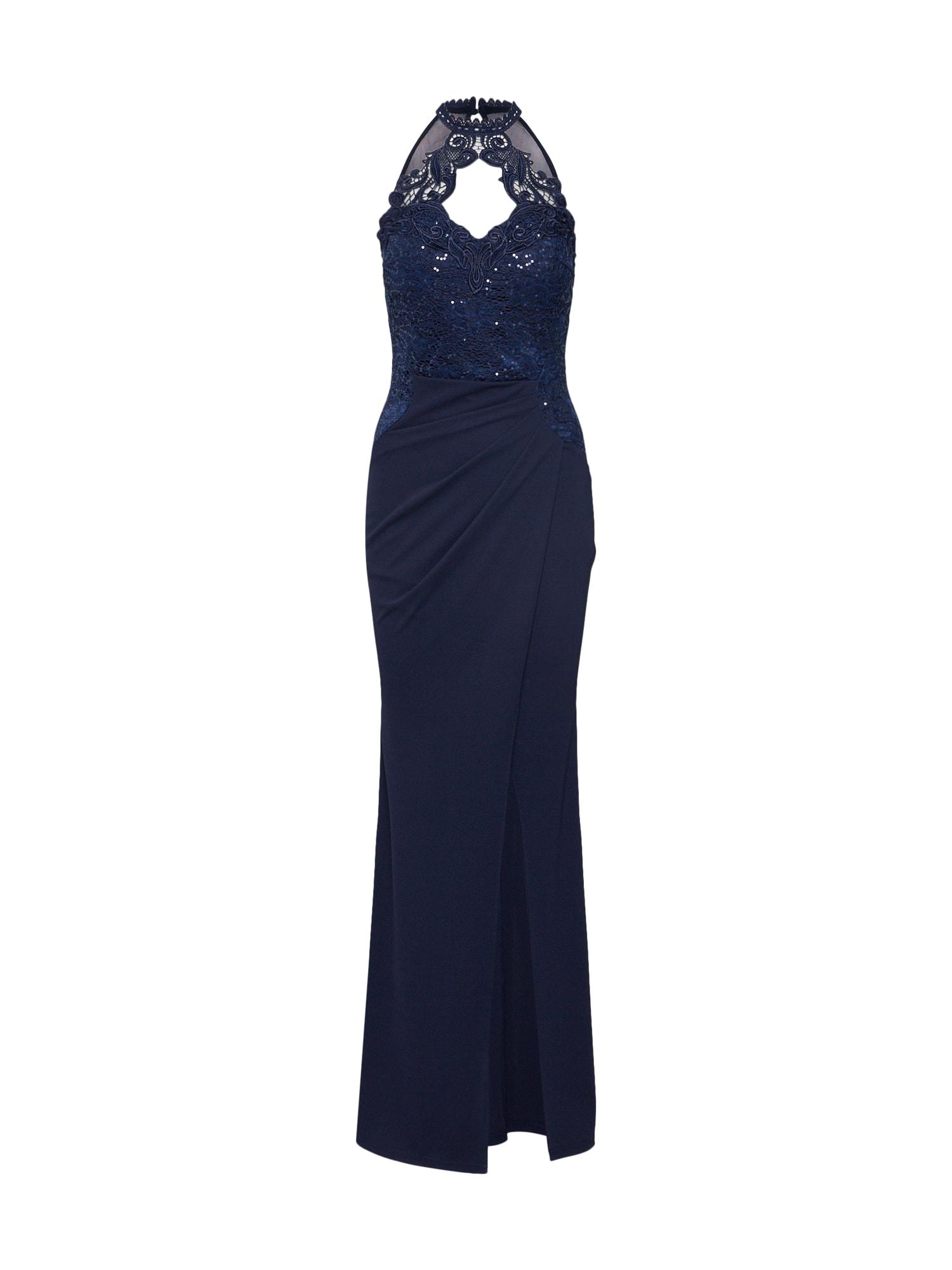Lipsy Vakarinė suknelė tamsiai mėlyna