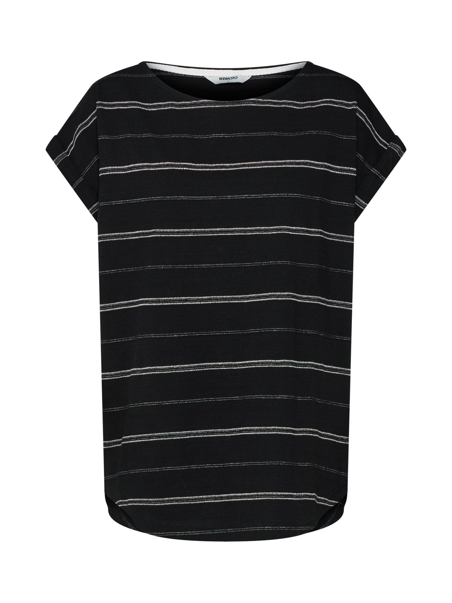 Tričko Andy šedá černá bílá Wemoto