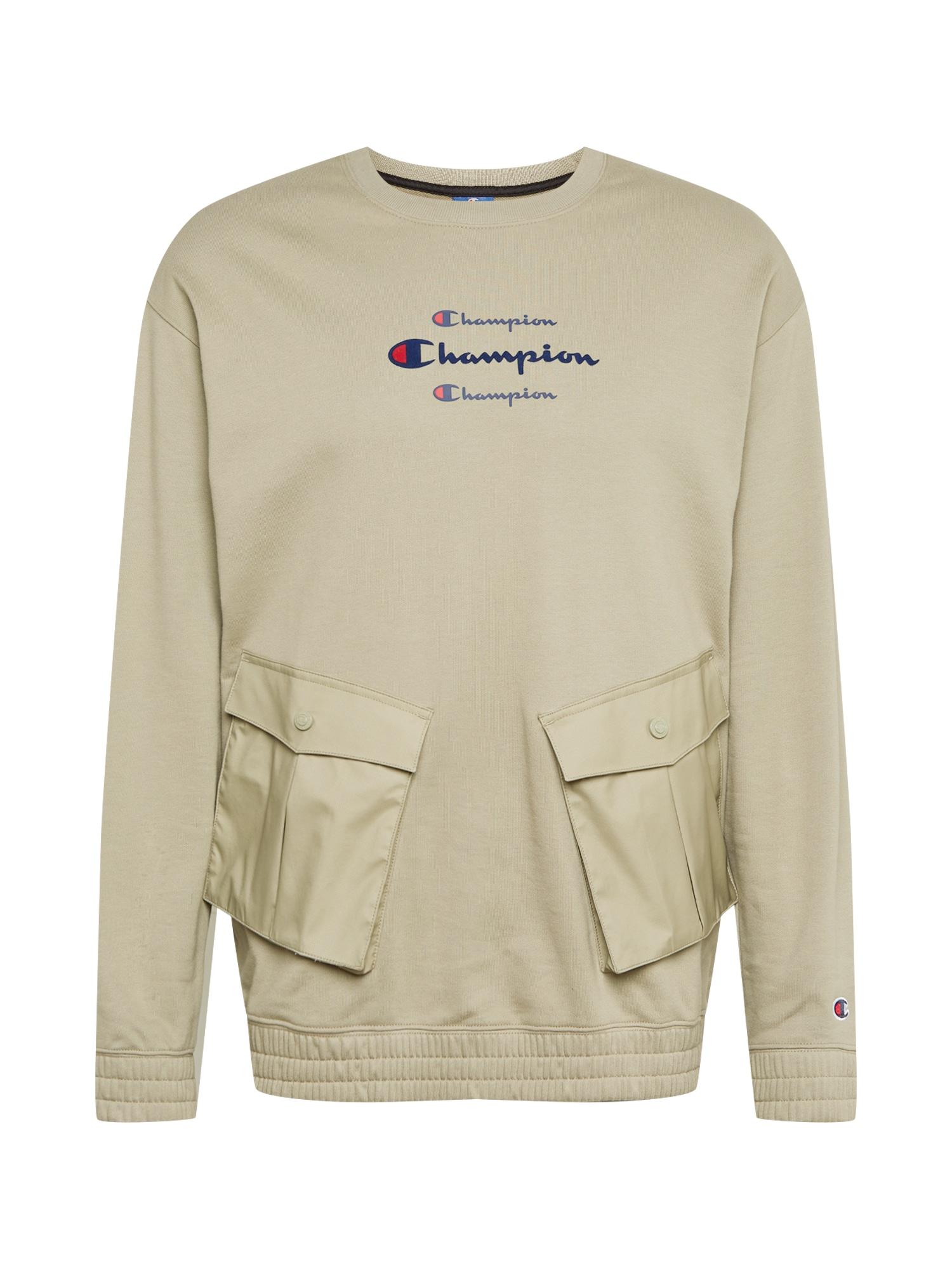 Champion Authentic Athletic Apparel Megztinis be užsegimo rusvai pilka