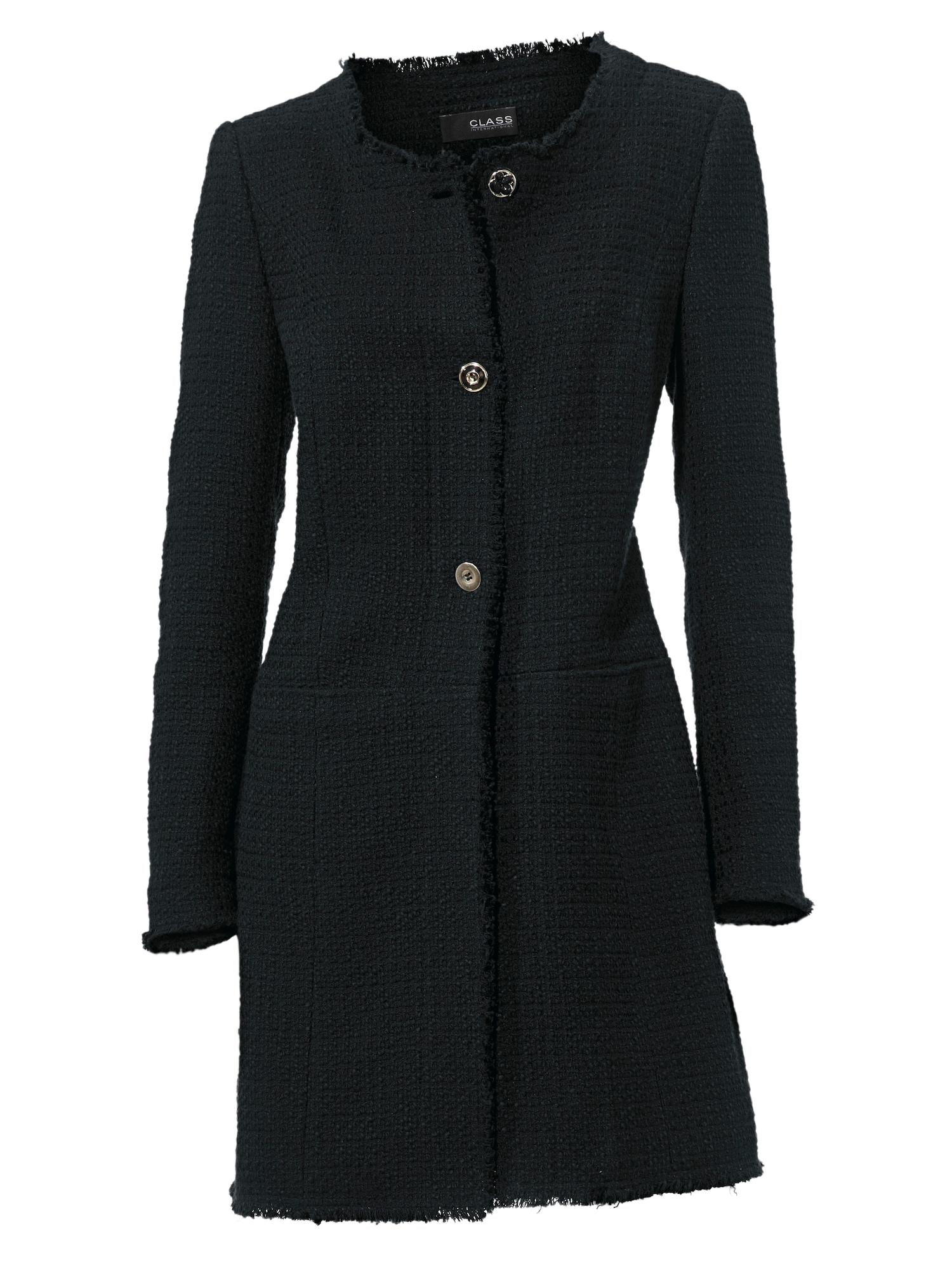 heine Demisezoninis paltas juoda
