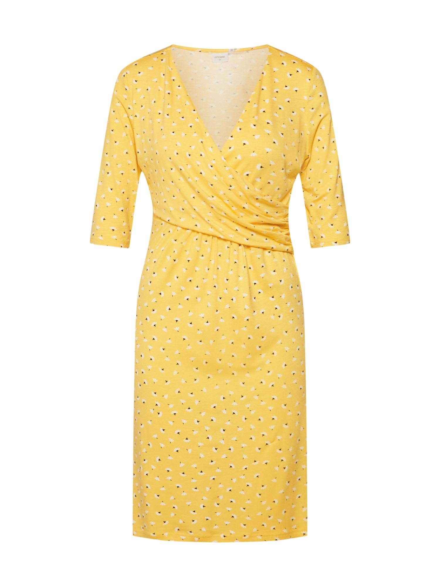 Šaty Alexa zlatě žlutá Cream