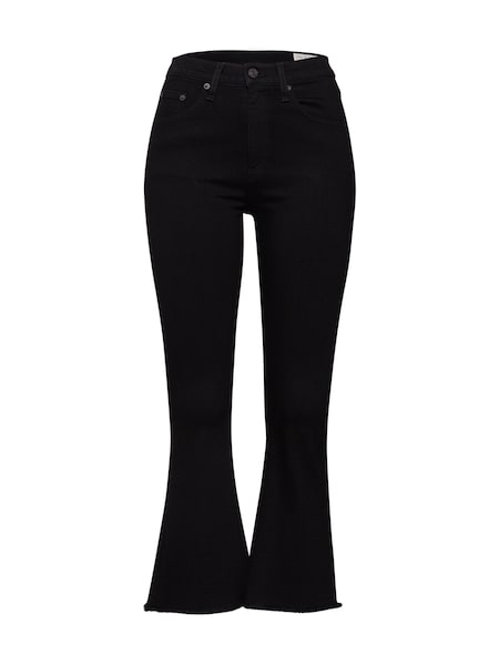 Hosen für Frauen - Jeans 'Crop Flare' › Rag Bone › schwarz  - Onlineshop ABOUT YOU