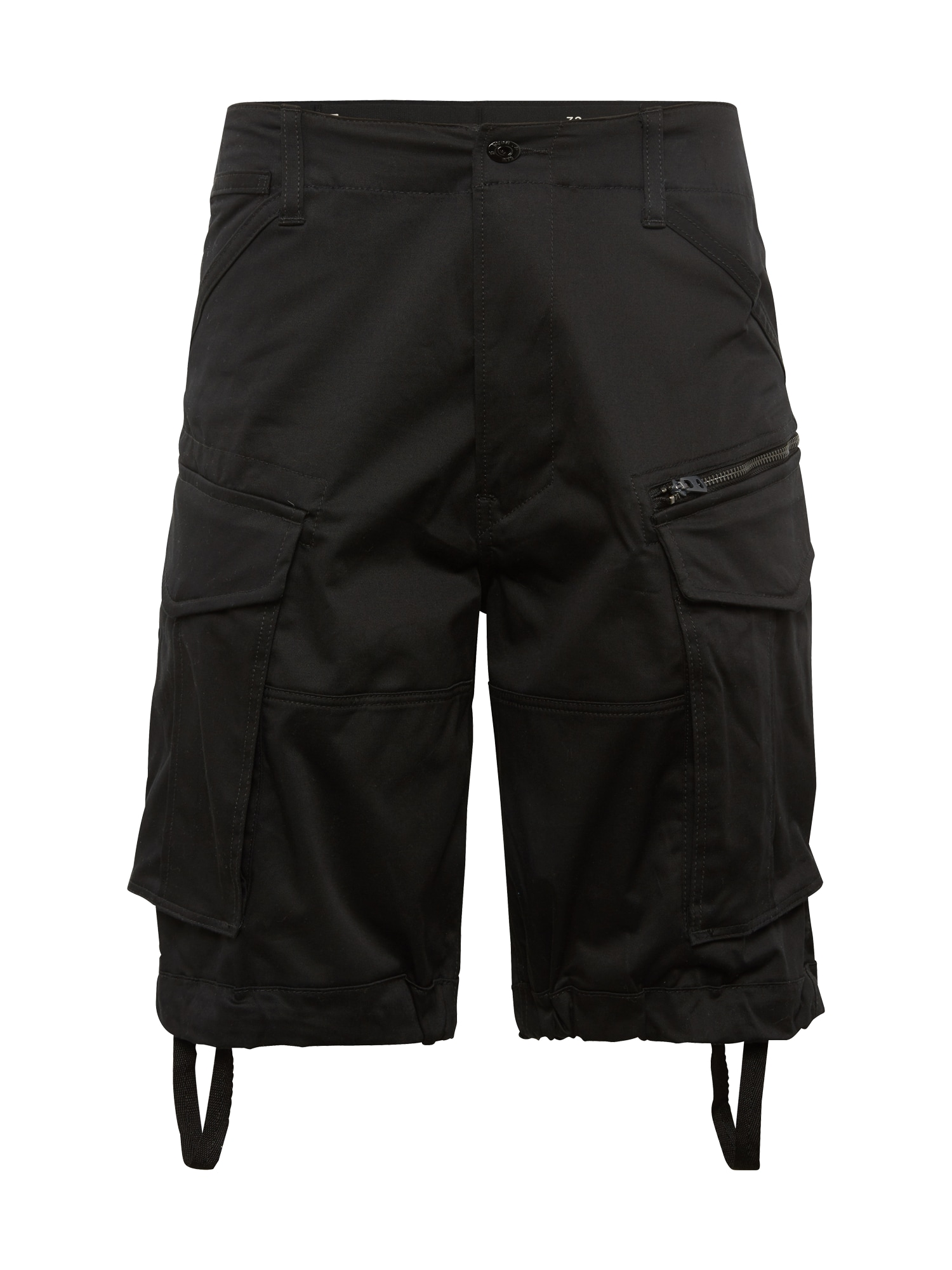 G-Star RAW Laisvo stiliaus kelnės 'Rovic' juoda