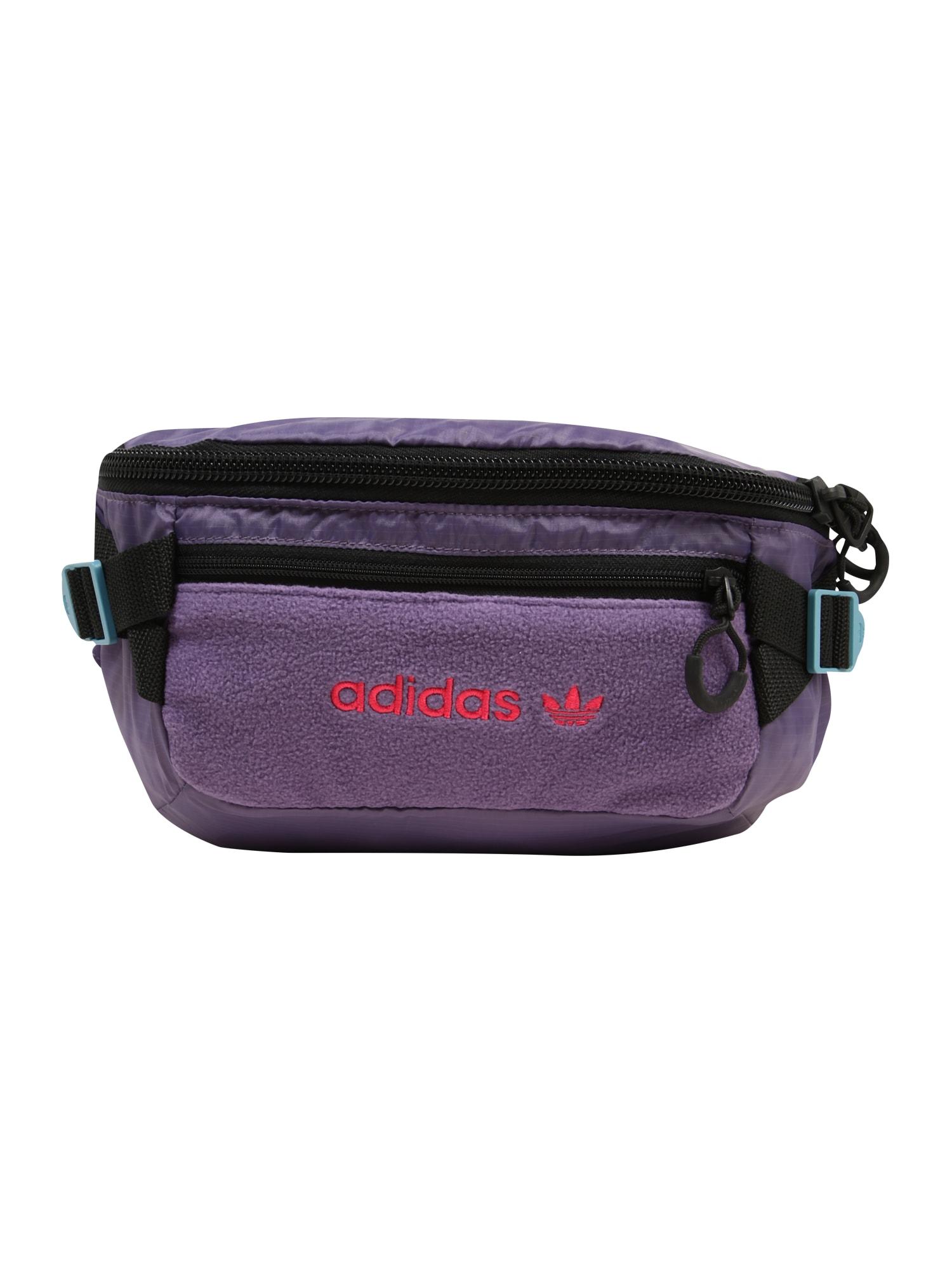ADIDAS ORIGINALS Rankinė ant juosmens 'Premium Essentials' tamsiai violetinė