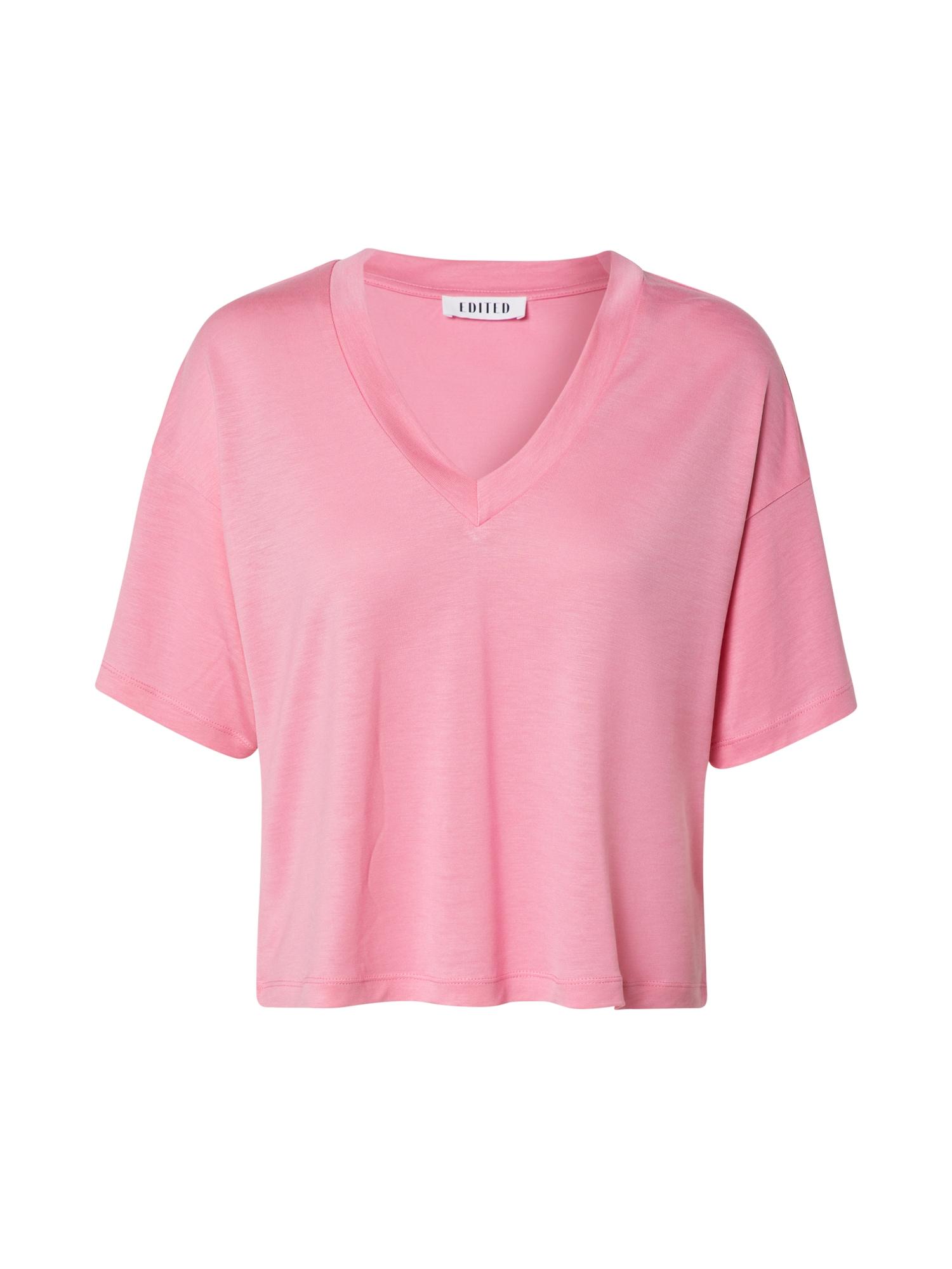 EDITED Marškinėliai 'Lenio' rožinė