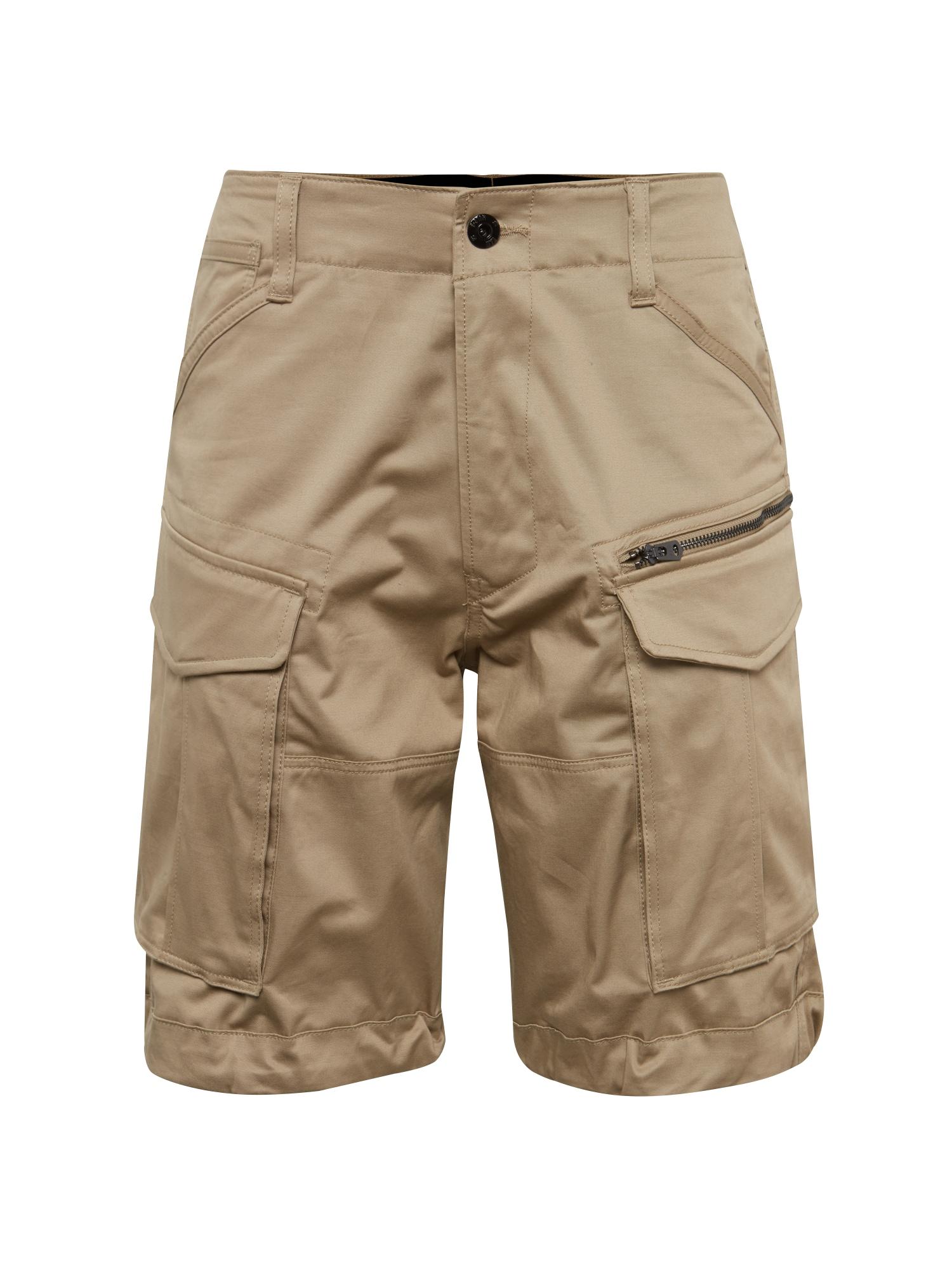 G-Star RAW Laisvo stiliaus kelnės 'Rovic' smėlio