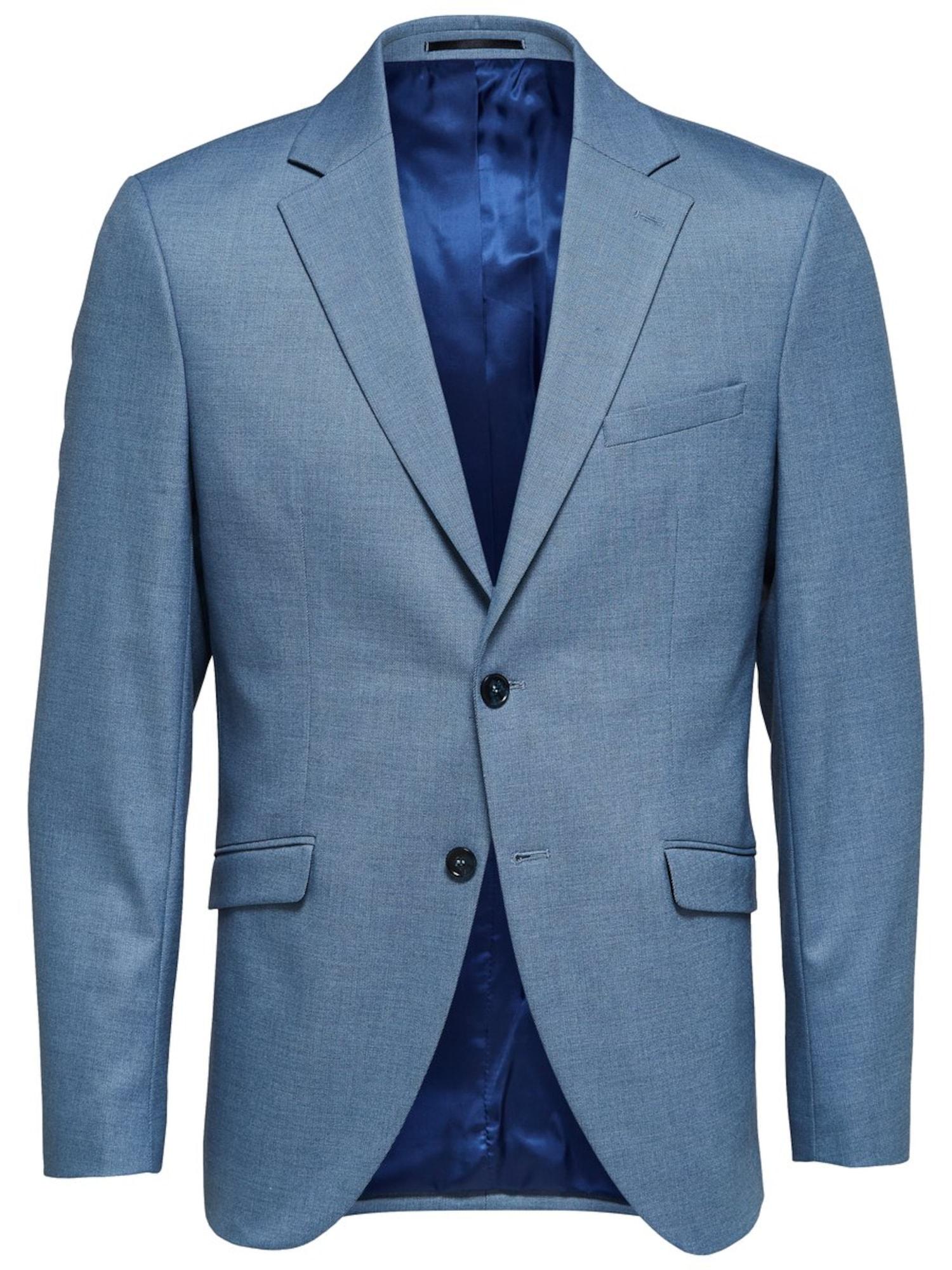 SELECTED HOMME Biznis sako  s modrými škvrnami