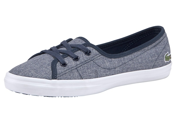 Ballerinas für Frauen - Ballerina 'ZIANE CHUNKY 319 1 CFA' › Lacoste › blue denim  - Onlineshop ABOUT YOU