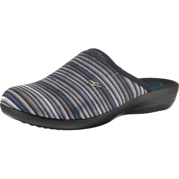 Hausschuhe für Frauen - Pantoffeln › FLY FLOT › dunkelblau grau dunkellila  - Onlineshop ABOUT YOU
