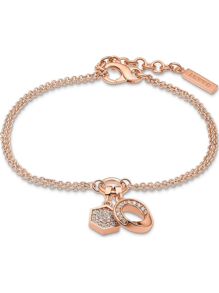 Armbaender - Armband 'Connection' › JETTE › rosegold weiß  - Onlineshop ABOUT YOU
