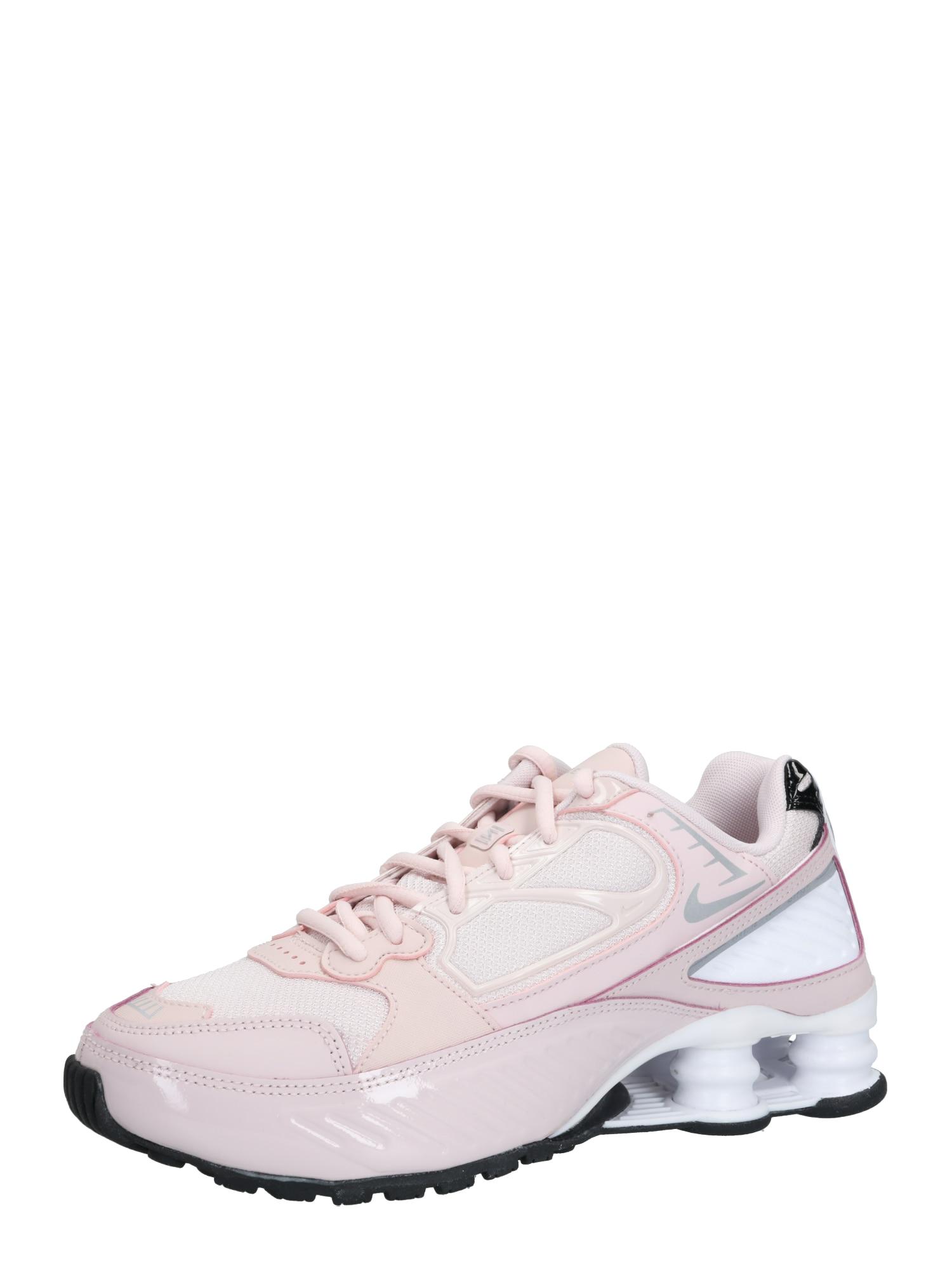 Nike Sportswear Sportbačiai be auliuko 'SHOX ENIGMA 9000' rožių spalva / sidabras