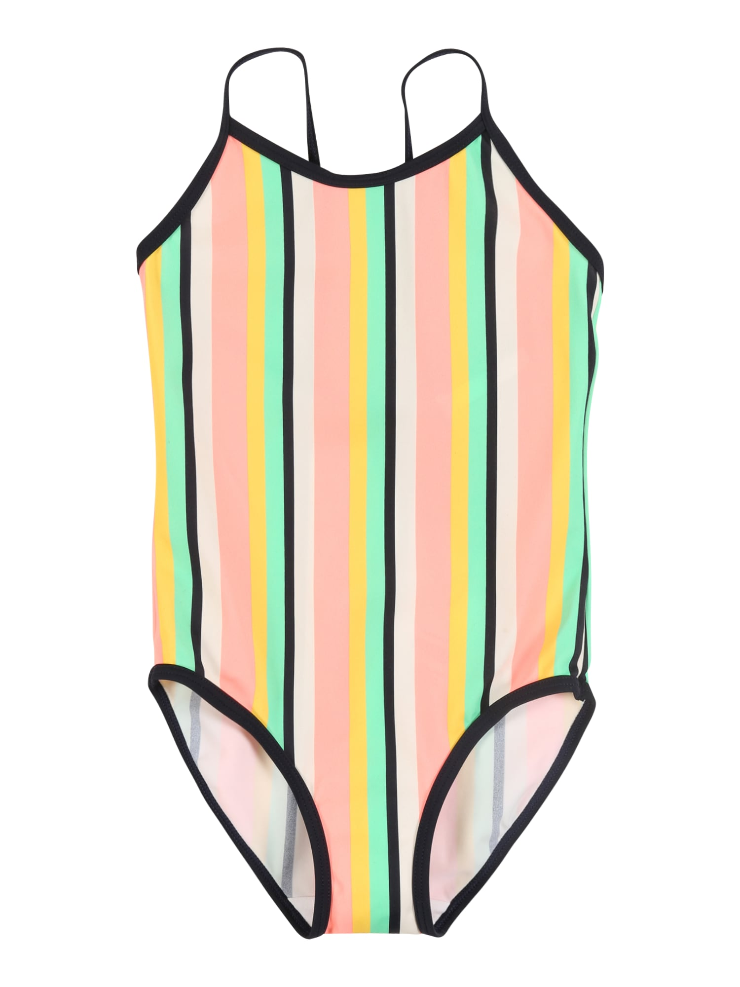 NAME IT Maudymosi kostiumėlis 'NMFZTRIPE' mišrios spalvos