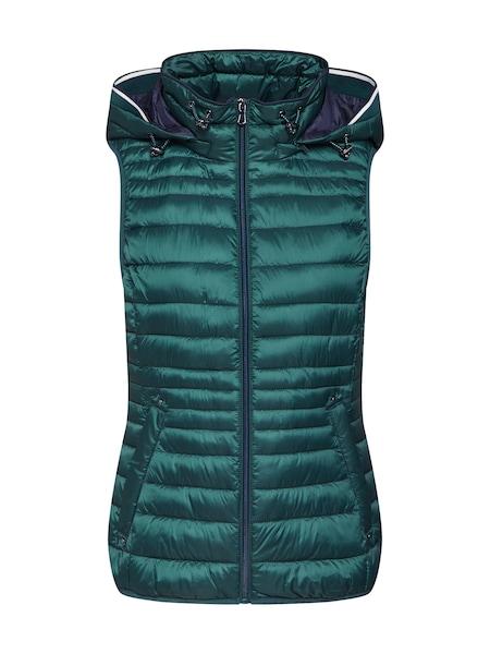 Jacken für Frauen - ESPRIT Weste dunkelgrün  - Onlineshop ABOUT YOU