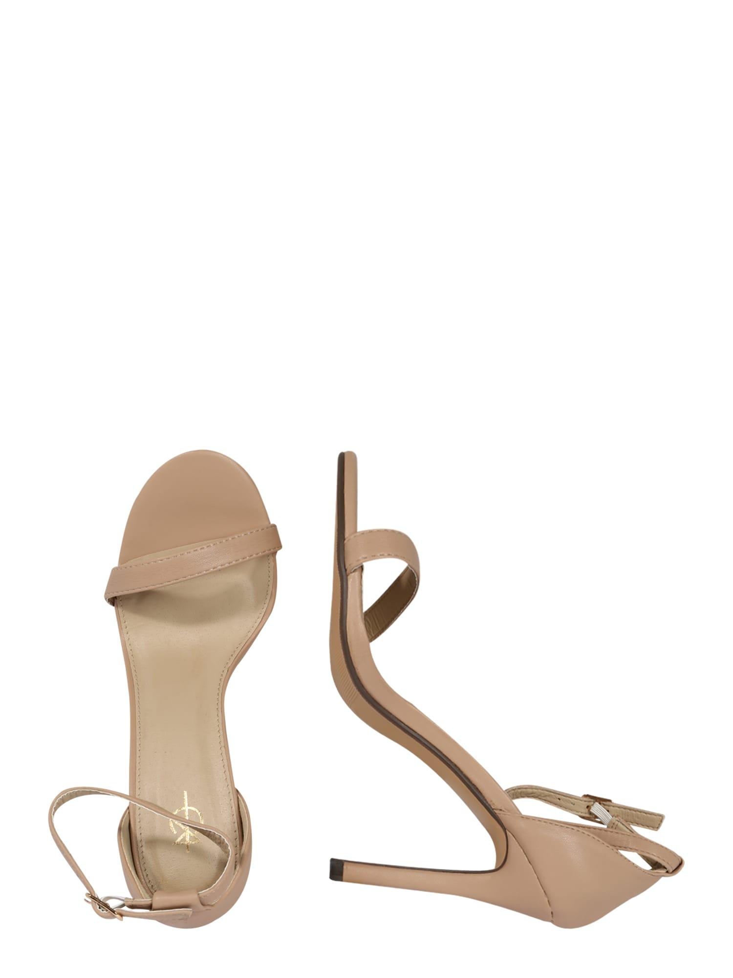 4th & Reckless Sandal 'JASMINE'  nude
