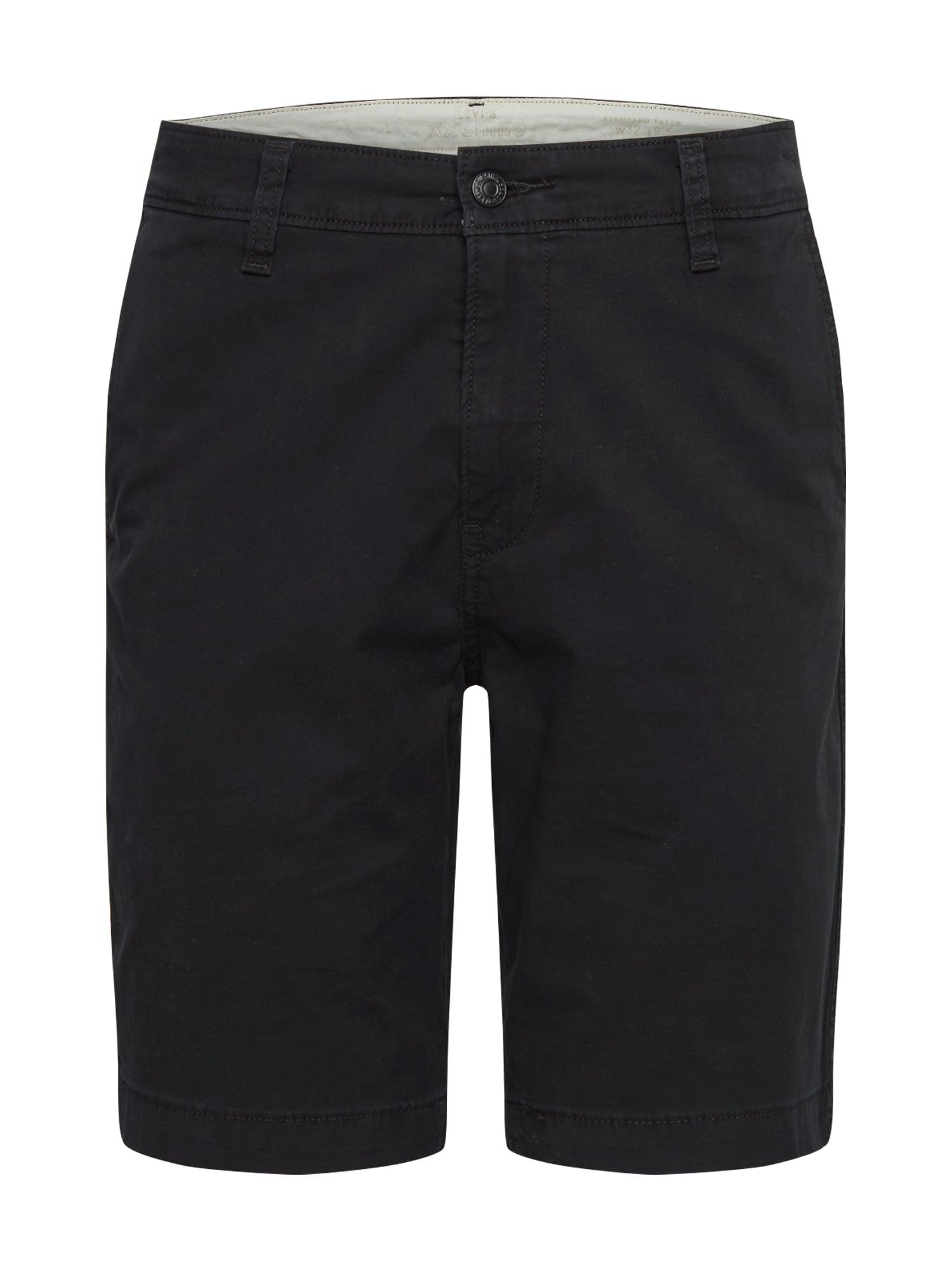 """LEVI'S """"Chino"""" stiliaus kelnės juoda"""